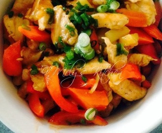 Stir Fried Sweet and Sour Chicken
