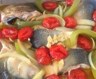 Milkfish in Olive oil (slow cook)