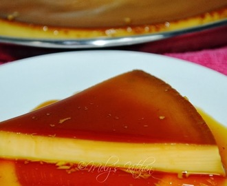 Leche Flan with Vanilla