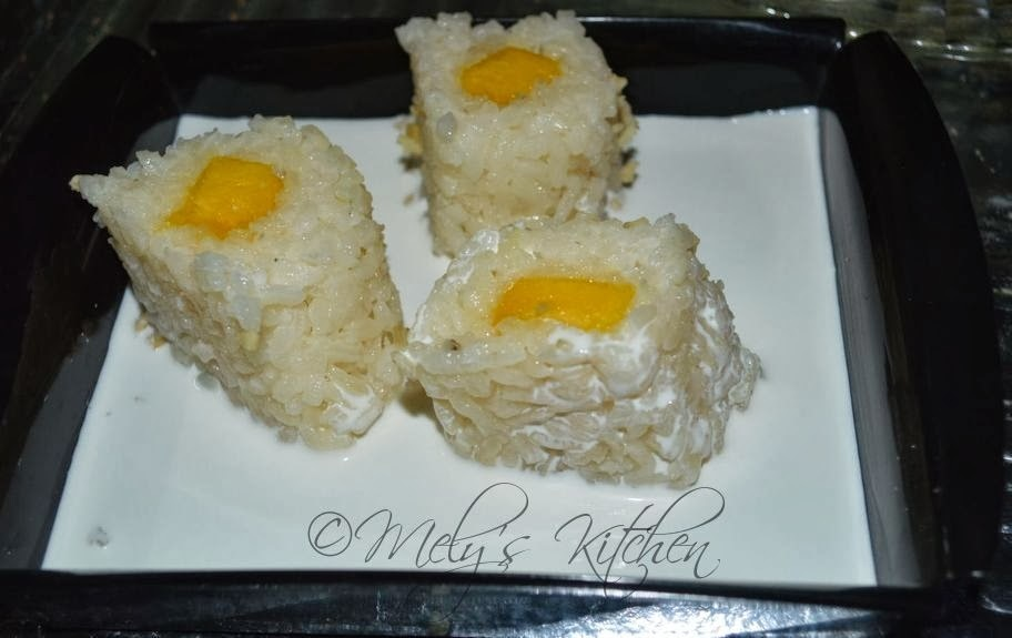 Mely's Kitchen Sticky Rice with Mango