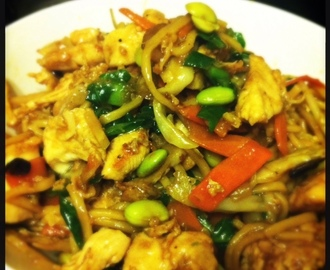 Cheating Chicken Noodle Stir-Fry