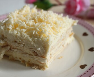 ♥ {Mother's Day recipe} No Bake Layered Cheesecake ♥
