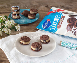 Double Choc Cookie Dough Sandwiches und Bahlsen Sweet on Streets Tour
