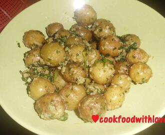 Buttered Baby Potatoes
