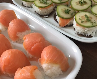 DIY: Sushi all you can eat° Sushi einmal anders  (auch vegan)