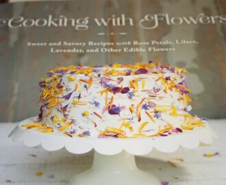 Book Review - Cooking With Flowers
