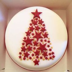 Image result for simple christmas cake decoration | Cake in 2018 | Pinterest | Cake, Christmas cake decorations and Cake decorating