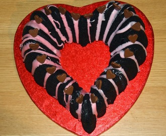 Valentine's Chocolate and Beetroot Cake Heart Shaped Bundt