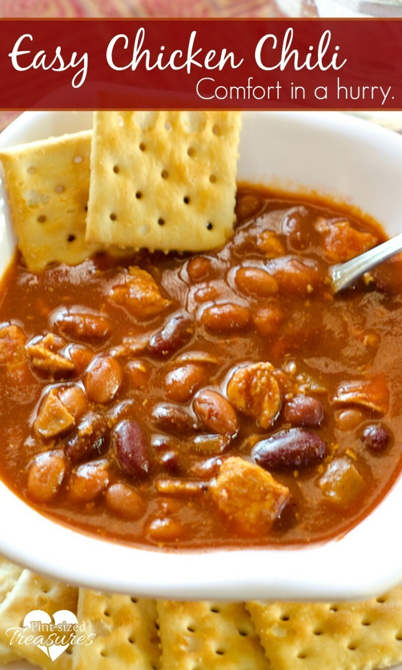 Quick and Easy, Hearty Chicken Chili