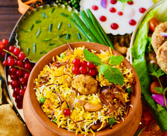Banarasi Vegetable Biryani ~ My Biryani Trail
