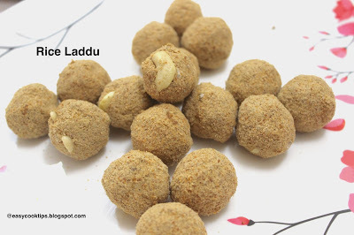 Rice Laddu | How to make Rice Laddu with Jaggery | Healthy and Nutritional Snack