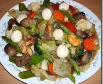 Chop Suey / Chopsuey (Stir Fry Mixed Vegetables)