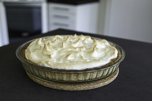 Lemon meringue pie – Citronmarängpaj