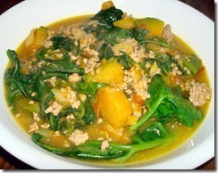 Utan: Alugbati at Kalabasa (Vine Spinach with Squash)