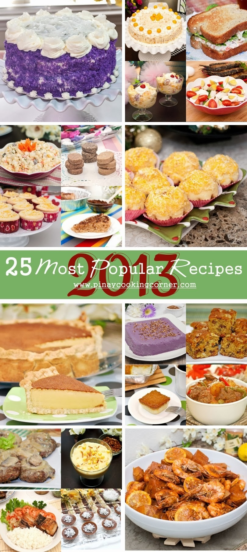 PiTCC's 25 Most Popular Recipes of 2013