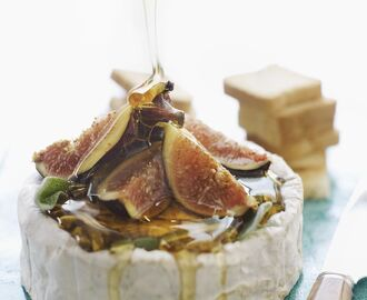 Easy Dessert Figs and Brie