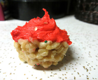 Cake Batter Rice Krispie Cupcakes! Awesome No Bake Recipe...