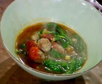 EJ's Simple Italian Meatball Soup