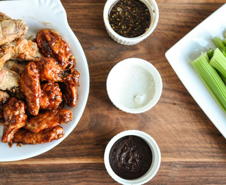 Crispy Chicken Wings…