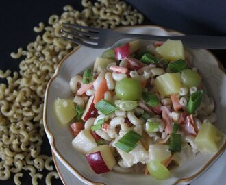 Sweet Hawaiian Pasta Salad