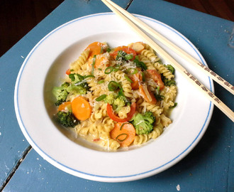 20min 'One Pot' Thai-Curry Pasta