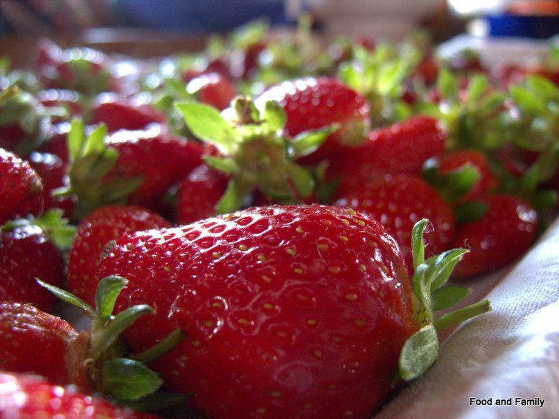 Strawberry Jam Season - And The Recipe