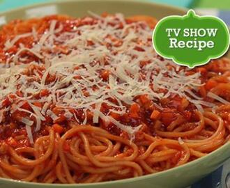 Chicken Carrot Spaghetti Recipe