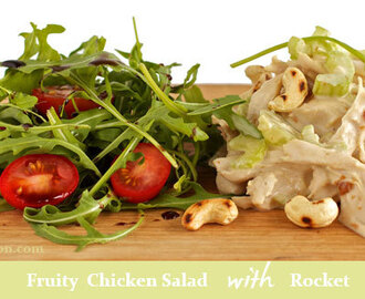 Healthy Chicken and Cashew Salad