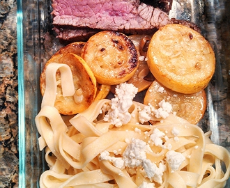 Picnic Lunch to Go: Skirt Steak & Fettuccine