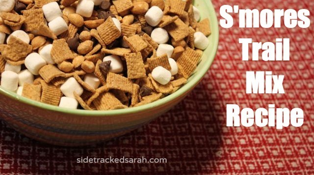 S'mores Trail Mix Recipe