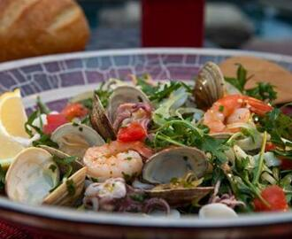 Chilled Italian Seafood Salad