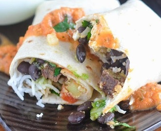 Magic Breakfast Steak Burrito Recipe