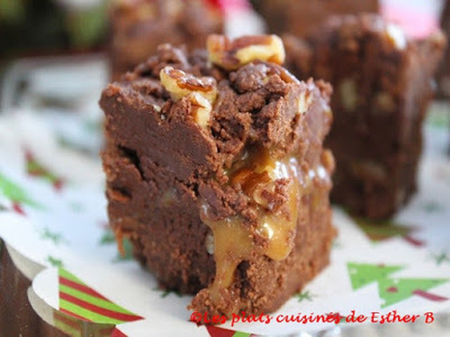 "Fudge ""turtle"" triple chocolat"