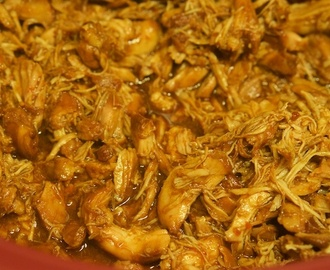 Pulled Chicken aus dem Crockpot