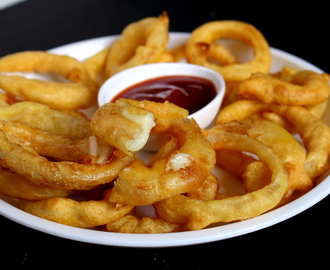 Cheese Stuffed Onion Rings