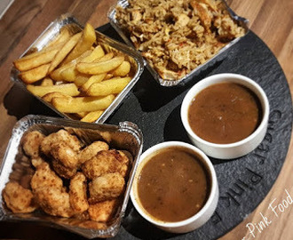 Slimming World Friendly Chinese Fakeaway: Chicken Balls, Chips, Egg Fried Rice & Curry Sauce