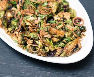 Fried Brussels Sprouts | SAVEUR
