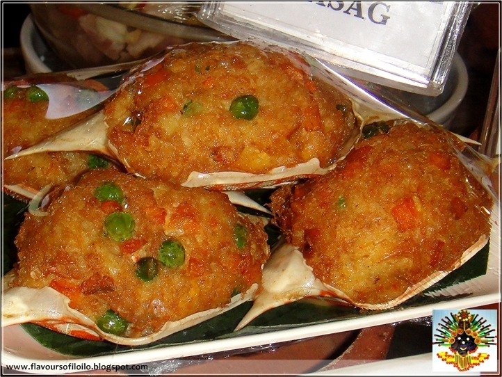 Crab relleno and more at Aboy's in Bacolod Ci