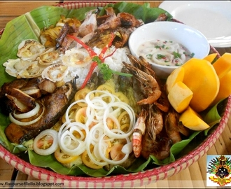 Festival Platters at Sinamu Seafoods and Native Cuisine in Santa Barbara