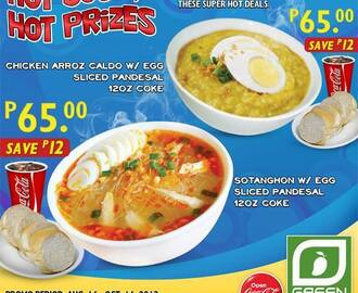 Hot Soup, Hot Prizes at Green Mango