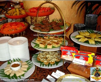 Native delicacies at Misa de Gallo Breakfast Buffet at Days Hotel Iloilo