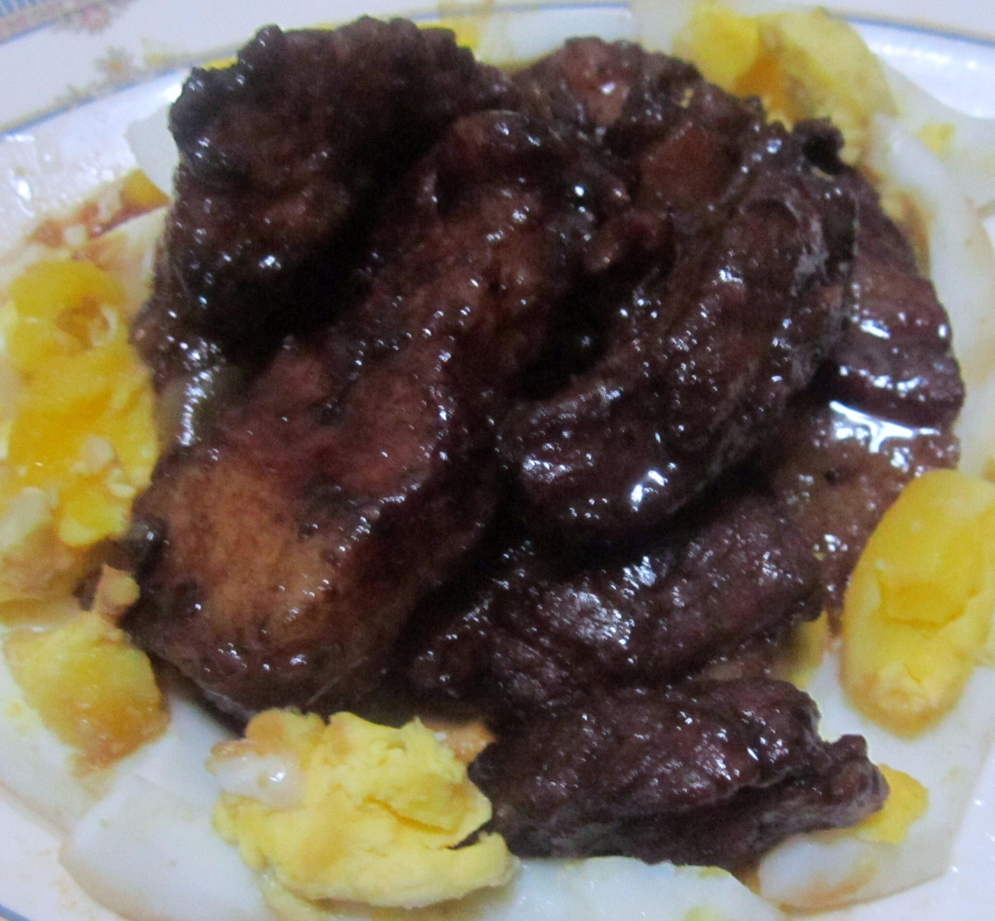 Pork Spareribs Adobo Delight