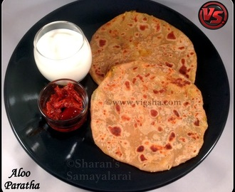 Aloo(Potato) Paratha Recipe