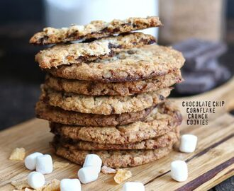 Chocolate Cornflake Crunch Marshmallow Cookies