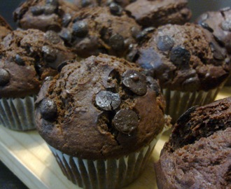 Muffins de Chocolate (tipo Starbucks)