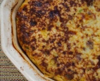 Mother's Day Make-Ahead Sausage and Cheese Grits Casserole