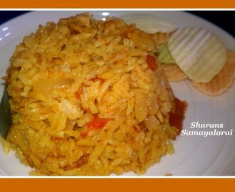 Tomato Pulao - Simple version