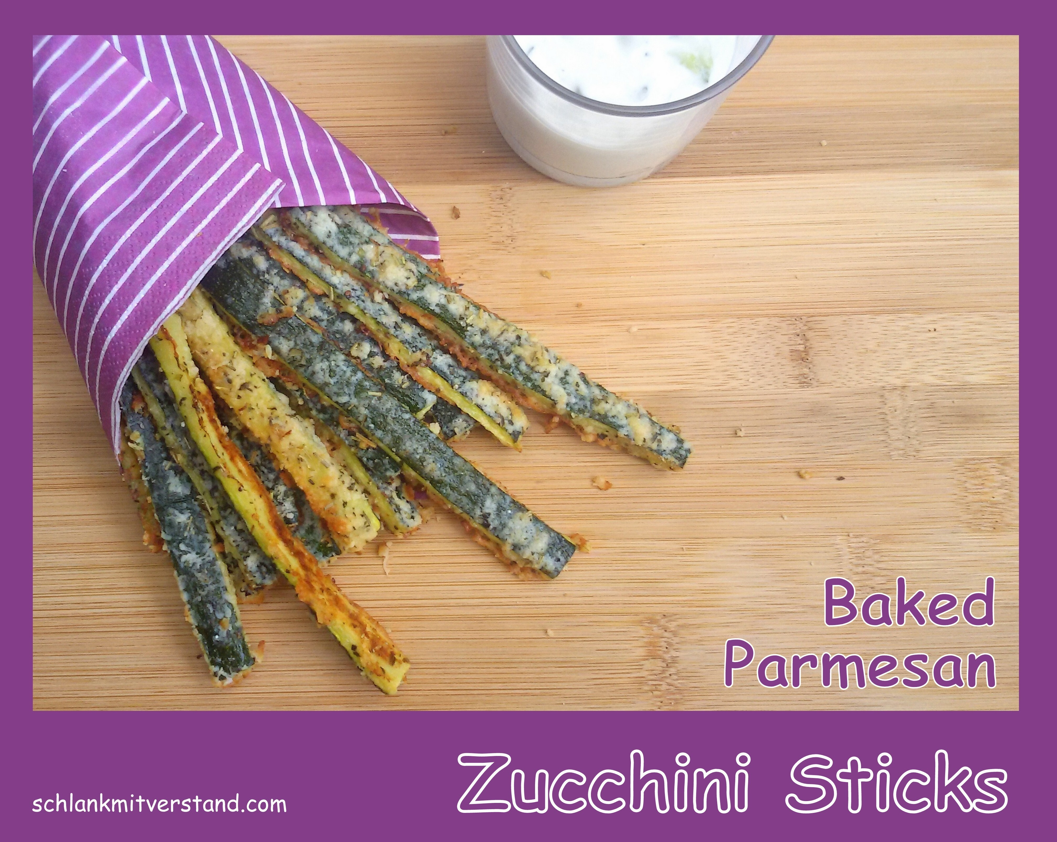low carb Baked Parmesan Zucchini Sticks