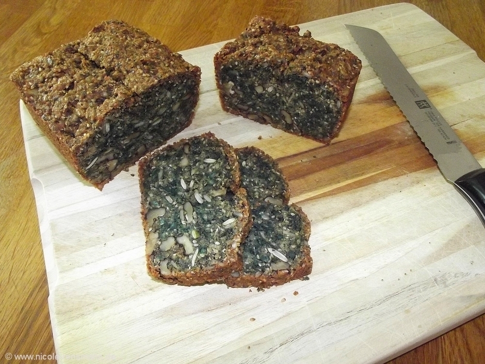 Gebacken: Low Carb Brot