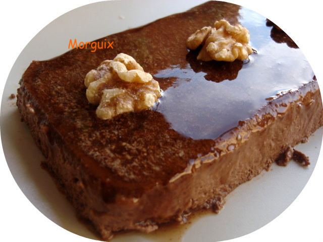 Pudding de chocolate y canela